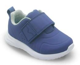 Cat & Jack Ragazzi Bambini USA 6 Navy Kolbi Gancio & Anello Sneakers Nwt