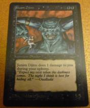 Highest Quality Proxy Magic the Gathering Juzam Djinn - Black Core image 1