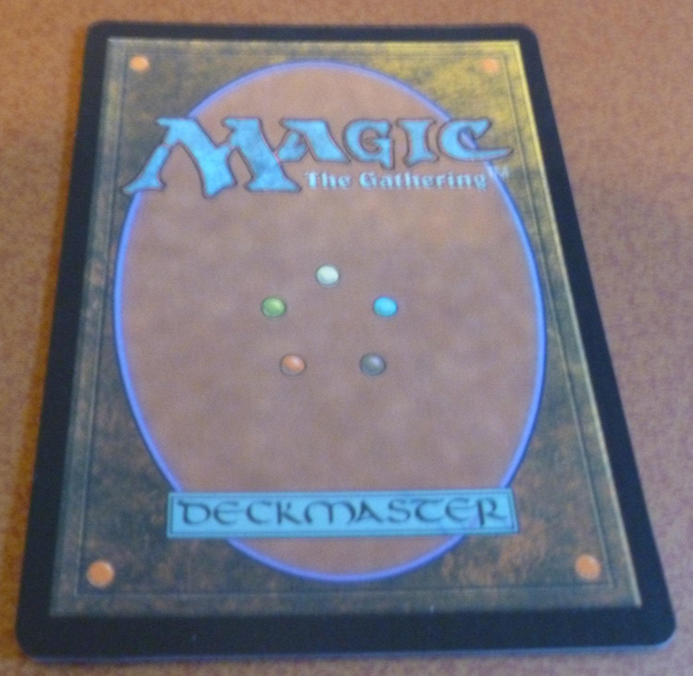Highest Quality Proxy Magic the Gathering Juzam Djinn - Black Core image 2