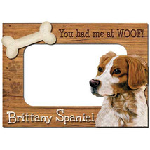 Brittany Spaniel 3-D Wood Photo Frame - $14.95