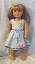 Spring Flower Dress for the American Girl Doll - $10.00