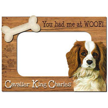 Cavalier King Charles 3-D Wood Photo Frame - $14.95