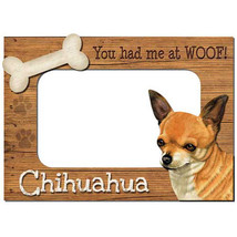 Chihuahua 3-D Wood Photo Frame - £11.49 GBP