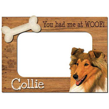 Collie 3-D Wood Photo Frame - £11.49 GBP