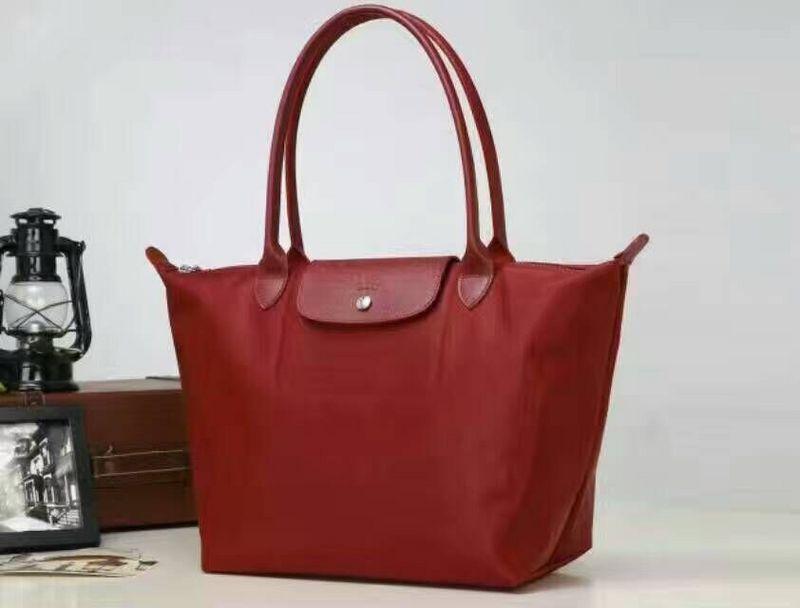 Longchamp Bag Le Pliage Size : Longchamp le pliage neo nylon bordeaux tote handbag