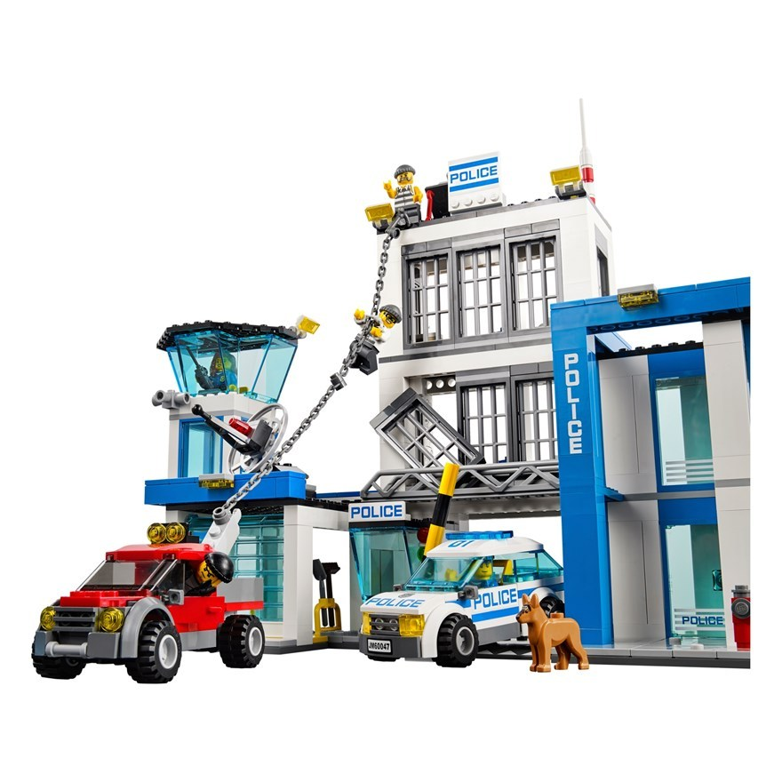 lego city police station 60047 and 50 similar items. Black Bedroom Furniture Sets. Home Design Ideas