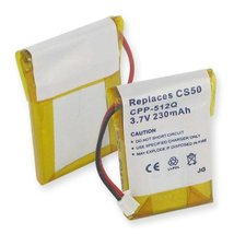 New Lithium Replacement Cordless Phone Battery For PLANTRONICS CS50, CS5... - $7.99