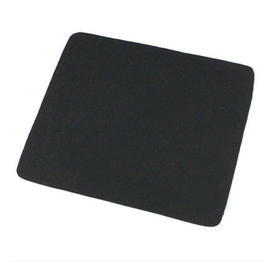 22*18cm Mouse Pad Mat for Laptop Computer Tablet PC Black AB1