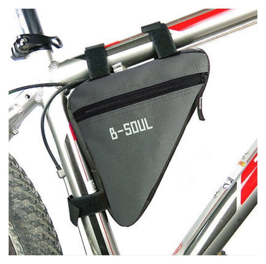 Bicycle Bag Pouch Cycling Bike Front Frame Pannier Saddle Triangle Bag  AF6
