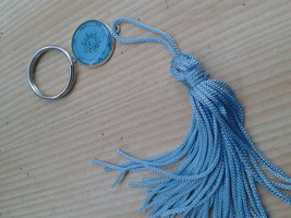 2nd Pentacle of Jupiter key ring. For acquiring glory, honors, riches. H... - $19.99
