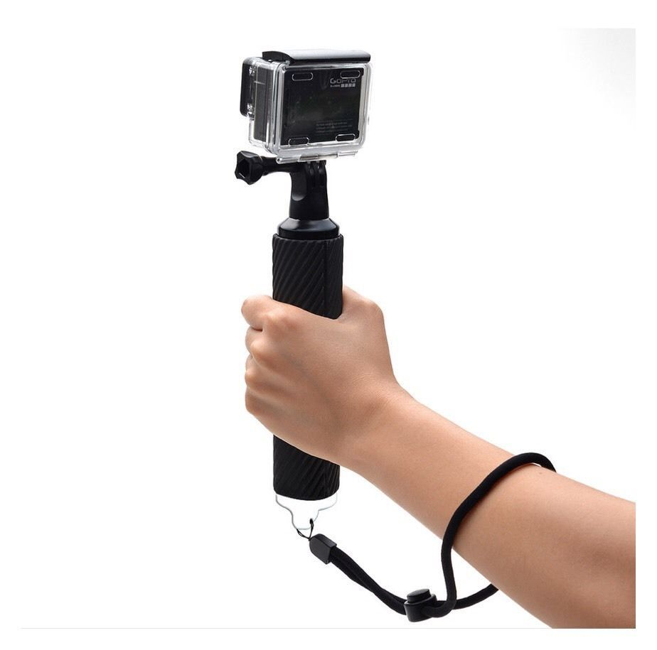 selfie rod sports camera handle mount stick for gopro and for xiaoyi ag7. Black Bedroom Furniture Sets. Home Design Ideas