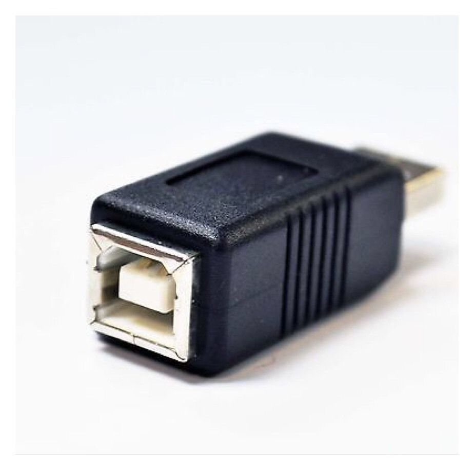 USB 2.0 A Male to Printer B Female Adapter Converter.                         B9