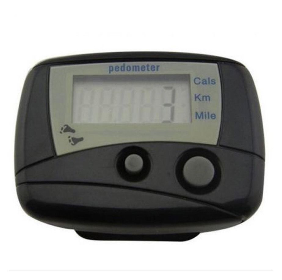 Small Digital LCD Pedometer Run Step Walking Distance Calorie Counter A15