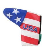 USA Patriotic  Putter Cover Blade Magnetic Closer - $14.95
