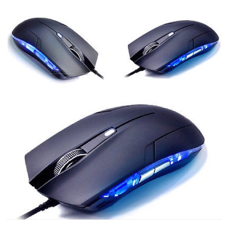 1600 DPI Mouse Optical USB Wired Gaming Mouse Gamer Game Mice For Computer AB7