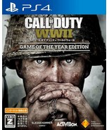Call of Duty World War II Game of the Year Edition PlayStation4 PS4 Japa... - $49.26
