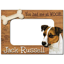 Jack Russell Terrier 3-D Wood Photo Frame - $14.95