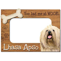 Lhasa Apso 3-D Wood Photo Frame - $14.95