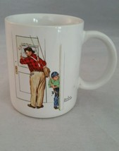 Norman Rockwell Coffee Mug Closed For Business ... - $9.74
