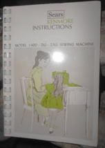 Kenmore 158.1400 Instruction Booklet Complete Useable - $10.00