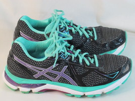 ASICS GT 2000 3 Running Shoes Women's Size 8 US Excellent Condition Black - $60.38