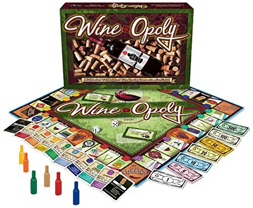 MONOPOLY Wineopoly WINE CELLAR Board Game NEW Sealed Fun