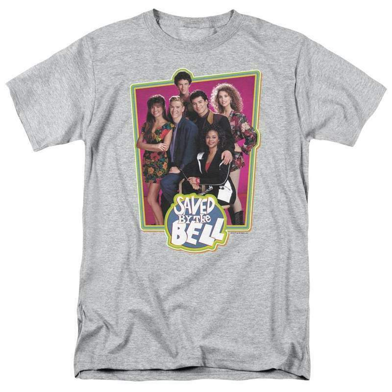 Saved by the Bell Bayside Tigers retro 80's 90's teen sitcom graphic tee NBC319