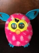 Furby Plush Electronic Toy Pink W/ White Polka Dots 2012 Hasbro - $30.00