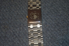 Benrus gold & Silver Toned,heavy watch,quartz,N... - $13.00