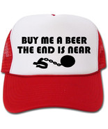 Buy Me A Beer The End Is Near Bachelor/Bachelorette Hat/Cap - $14.40