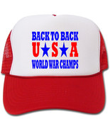 Back To Back World War Champs USA Hat/Cap - $14.40