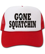 "Funny Gone Squatchin hat - special ""bobo"" style - $14.40"