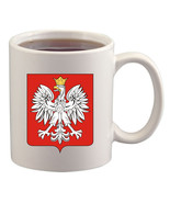 Polish Flag Coat Of Arms Crest Mug/Cup - $14.60