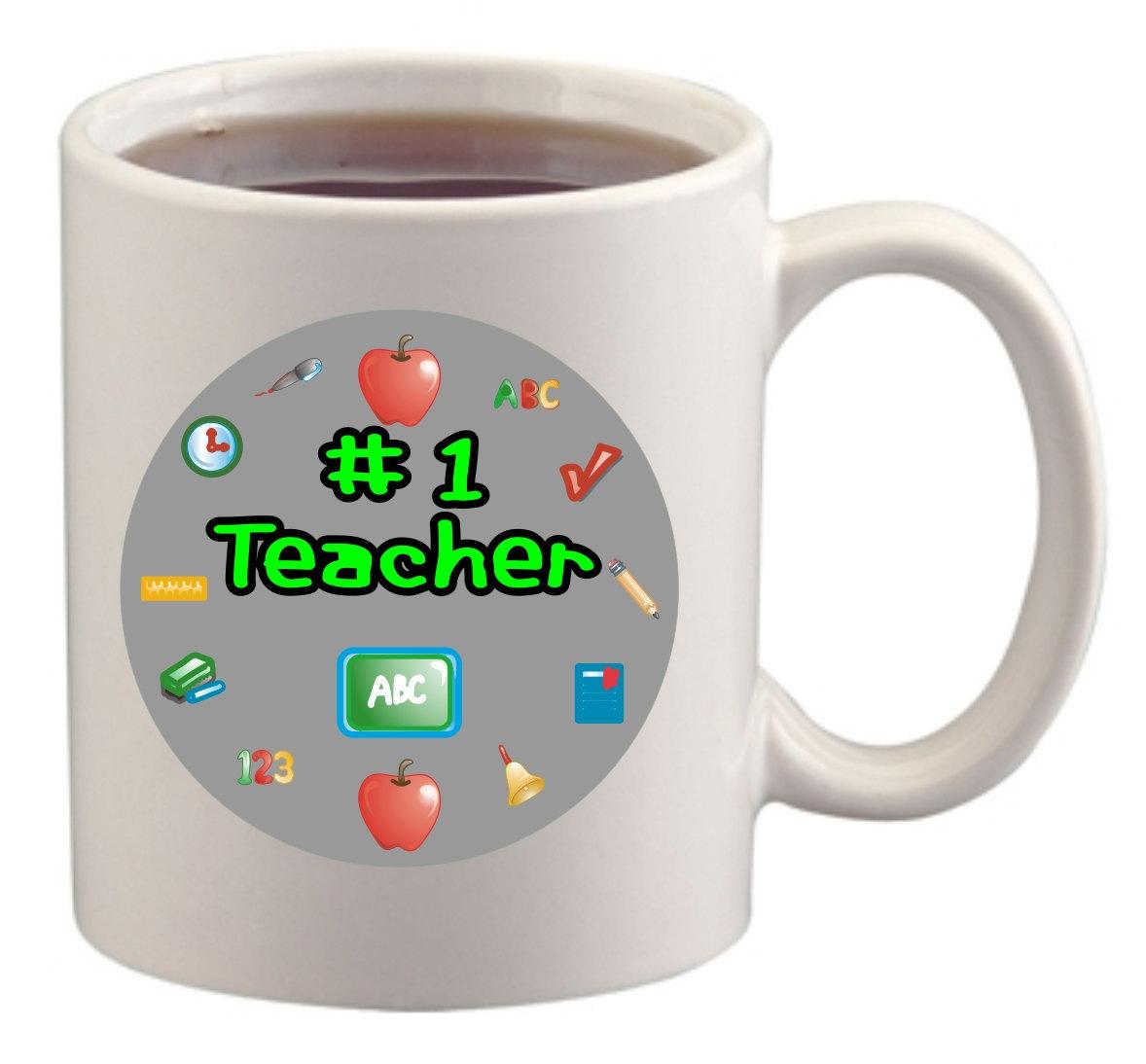 Number One Teacher Mug/Cup - $14.60