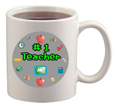 Number One Teacher Mug/Cup - $14.60