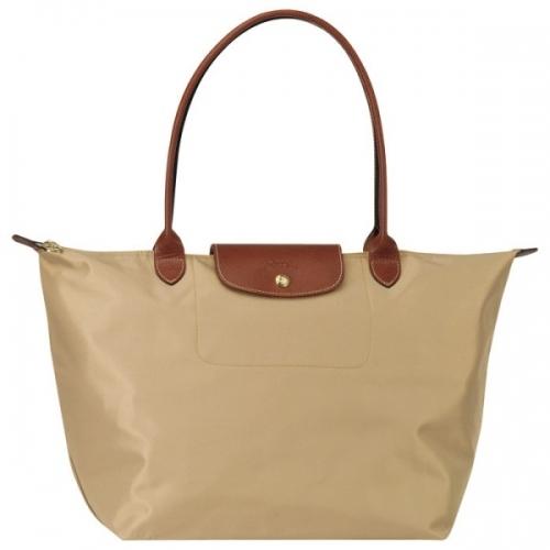 Longchamp Bag Le Pliage Size : Longchamp le pliage nylon tote beige shoulder bag size