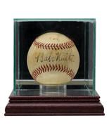 Babe Ruth Cy Young Connie Mack Signed NL Baseball w/Case PSA/DNA LOA AI0... - $22,309.03