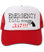 Funny Emergency Dial .357 Hat/Cap - $14.40