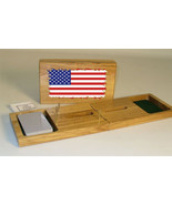 United States of America Flag Cribbage Board - $39.99