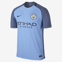 NIKE MANCHESTER CITY AUTHENTIC VAPOR MATCH HOME JERSEY 2016/17. - $190.00
