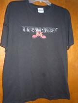 Ronald McDonald's Red Shoe Black T-Shirt Size L - $4.99