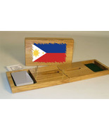 Filipino Flag Cribbage Board - $39.99