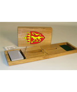 Norwegian Coat of Arms Cribbage Board - $39.99