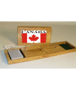 Canadian Flag Cribbage Board - $39.99