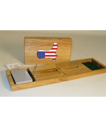 American Flag Cowboy Boot Cribbage Board - $39.99