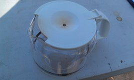 8M46 MR COFFEE 10 CUP COFFEE POT, WHITE (A BIT STAINED, BUT INTACT, GOOD... - $19.77