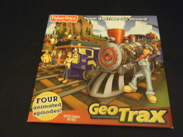 Fisher-Price Team GeoTrax-All Aboard - 4 Animated Episodes (DVD, 2009) - $13.63
