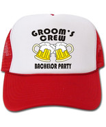 Groom's Crew Bachelor Party Hat/Cap - $14.40