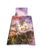 Wild Star Home WSH 'Awesome Unicorn' Childrens Duvet and Pillowcase Cove... - £49.10 GBP