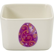 Precious Moments Celebrations Square Easter Appetizer Bowl - $25.33